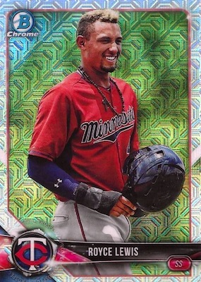 2018 Bowman Chrome Mega Box Variations Guide 17