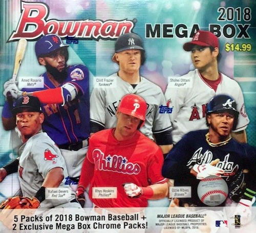 2018 Bowman Mega Box Chrome Baseball