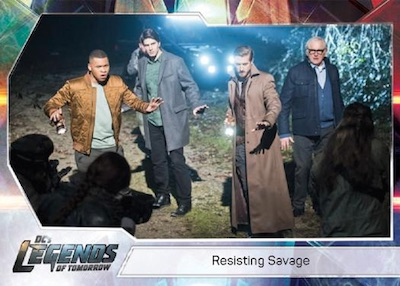Cryptozoic Legends of Tomorrow Seasons 1