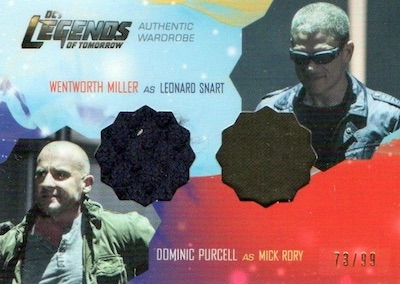 Cryptozoic Legends of Tomorrow Seasons 1 and 2