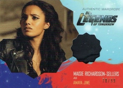 2018 Cryptozoic Legends of Tomorrow Seasons 1 and 2 Trading Cards - Checklist Added 28