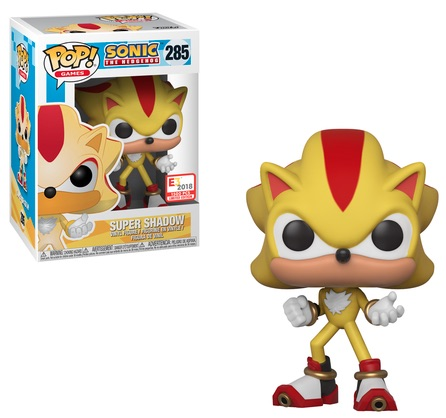 Funko Pop Sonic The Hedgehog Checklist Set Info Gallery Exclusives List