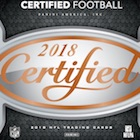 2018 Panini Certified Football Cards