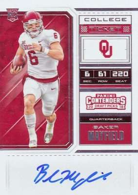 2018 Panini Contenders Draft Picks Football Variations Guide 8