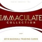 2018 Panini Immaculate Collection Baseball Cards