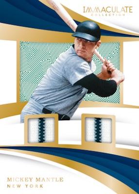 2018 Panini Immaculate Collection Baseball