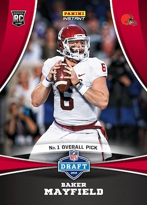 2018 Panini Instant NFL Football Cards 3