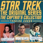 2018 Rittenhouse Star Trek TOS Captain's Collection Trading Cards