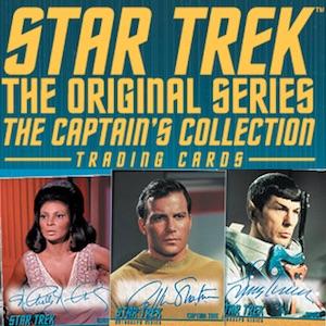 Star Trek Rittenhouse Captain/'s collection William Shatner Kirk Auto autographe