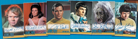 Rittenhouse Star Trek TOS The Captain's Collection