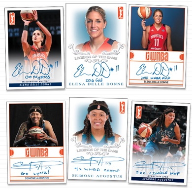 2018 Rittenhouse WNBA Basketball Cards 3