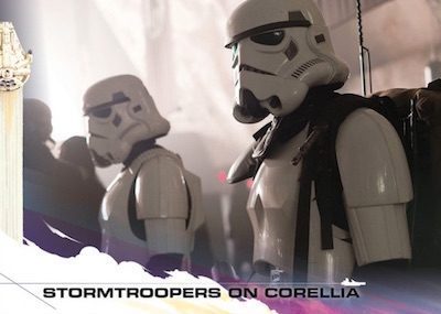 2018 Topps Countdown to Solo: A Star Wars Story Trading Cards Gallery 26