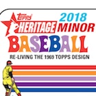 2018 Topps Heritage Minor League Baseball Cards