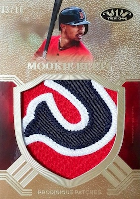 2018 Topps Tier One Baseball Cards 8