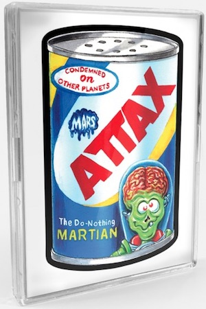2018 Topps Wacky Packages Mars Attacks Trading Cards 1