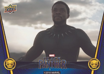 Upper Deck Black Panther Movie Black Panther