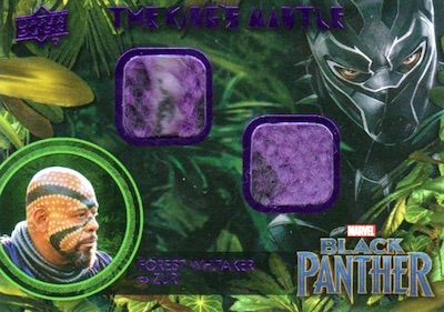 2018 Upper Deck Black Panther Movie Trading Cards 6
