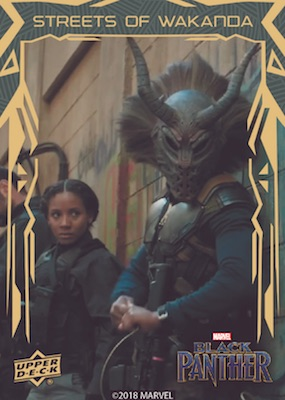 2018 Upper Deck Black Panther Movie Trading Cards 31