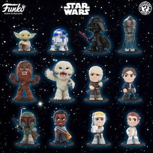 Funko Mystery Mini Star Wars Empire Strikes Back LUKE HOTH New In Hand