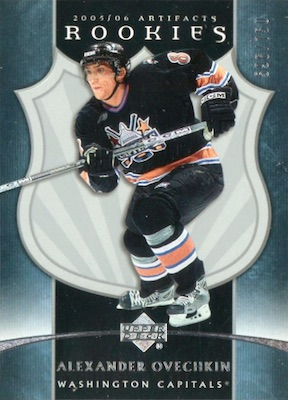 Top Alexander Ovechkin Rookie Cards 3