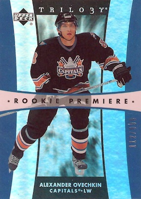 Top Alexander Ovechkin Rookie Cards 2