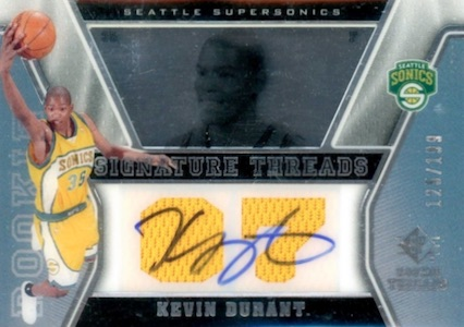 Top 15 Kevin Durant Rookie Cards 9