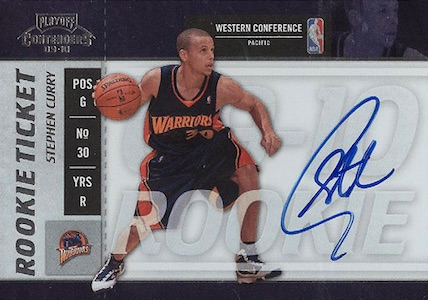 Top 10 Stephen Curry Rookie Cards 7