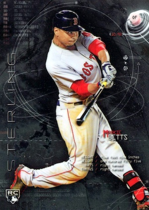 Mookie Betts Rookie Cards Checklist and Top Prospect Cards 1