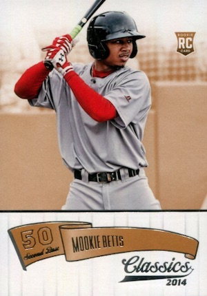 Mookie Betts Rookie Cards Checklist and Top Prospect Cards 3