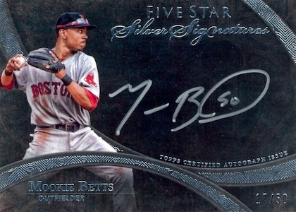 AL MVP! Mookie Betts Rookie Cards Checklist and Top Prospect Cards 10