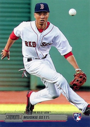 Mookie Betts Rookie Cards Checklist and Top Prospect Cards 15