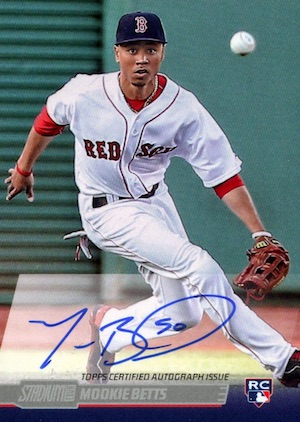 AL MVP! Mookie Betts Rookie Cards Checklist and Top Prospect Cards 14