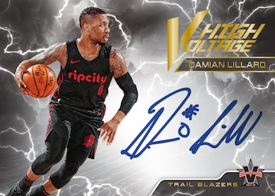 2017-18 Panini Vanguard Basketball