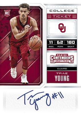 2018-19 Panini Contenders Draft Picks Basketball