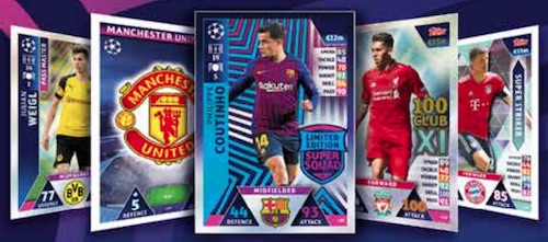 2018-19 Topps UEFA Champions League Match Attax Soccer Cards 3