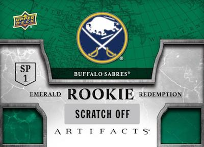 2018-19 Upper Deck Artifacts Hockey Cards 3