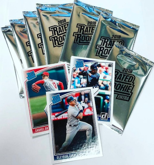 2018 Donruss Baseball Wrapper Redemption Cards 1