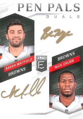 2018 Donruss Elite Football