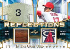 2018 Leaf In The Game Used Sports