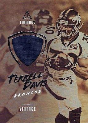 2018 Panini Luminance Football Cards 32