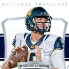 2018 Panini National Treasures Collegiate Football Cards