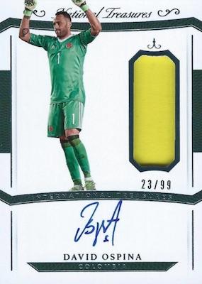 2018 Panini National Treasures Soccer Cards 31