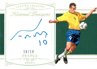 2018 Panini National Treasures Soccer