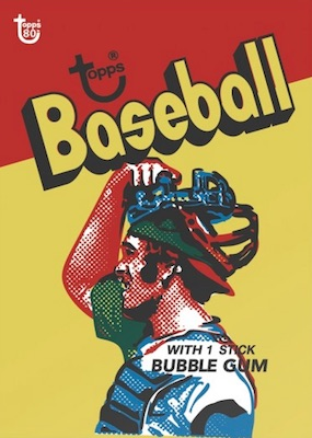 2018 Topps 80th Anniversary Wrapper Art Cards Gallery 43