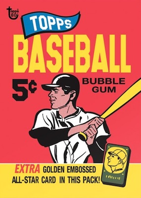 2018 Topps 80th Anniversary Wrapper Art Cards Gallery 51