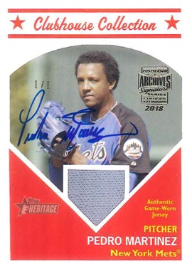2018 Topps Archives Signature Series Retired