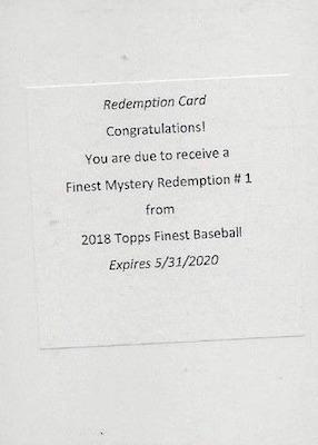 2018 Topps Finest Baseball Cards 29