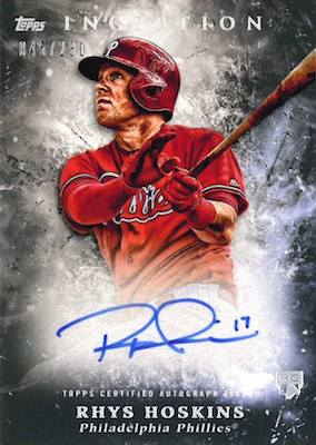 2018 Topps Inception Baseball Cards 4