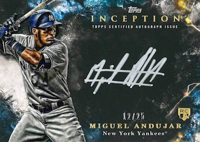 2018 Topps Inception Baseball Cards 31