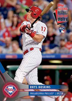 2018 Topps National Baseball Card Day Cards 1